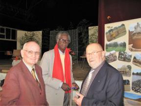 Philippe Milon, Alfred Sawadogo, Patrice Maillot