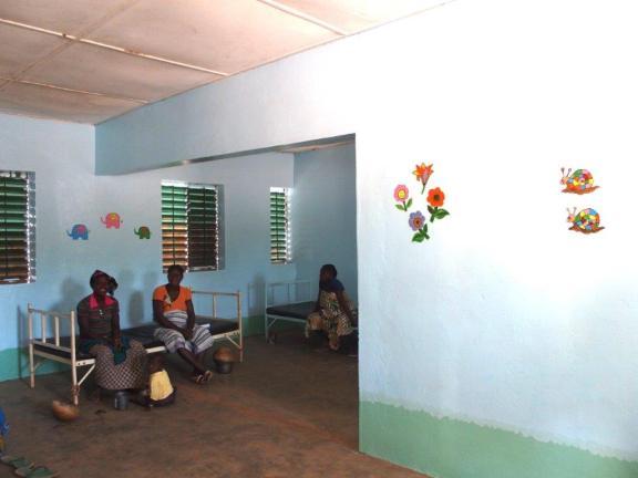 Salle post accouchement