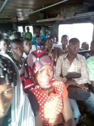 Dans le bus ....