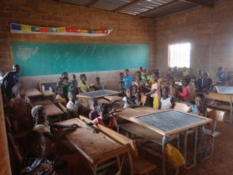 classe de l'école de nayiri