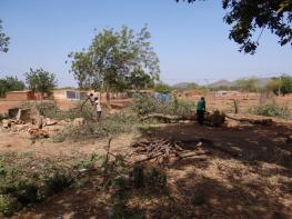le jardin école a travaux d'extension 1