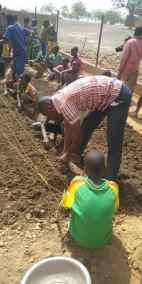 108 La plantation a commencé